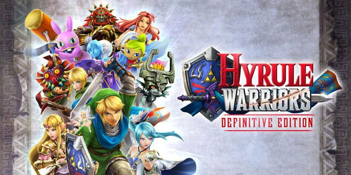 Zelda, Hyrule Warriors, Definitive Edition, Link, Hyrule, Ruto, Ganondorf, Shiek, Impa, Majora, Linkle, Switch, Nintendo, Koei, Tecmo, Fee, Ocarina, Cia, Masterschwert, Volga, Darunia, Midna, 3DS, Wii U