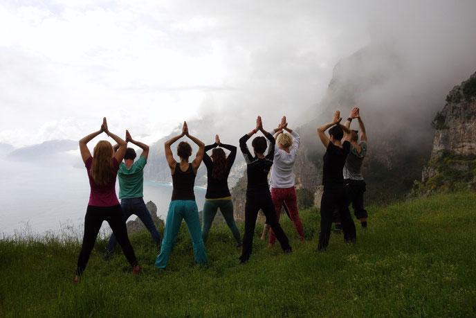 Yoga in Reschen am Reschensee am Reschenpass