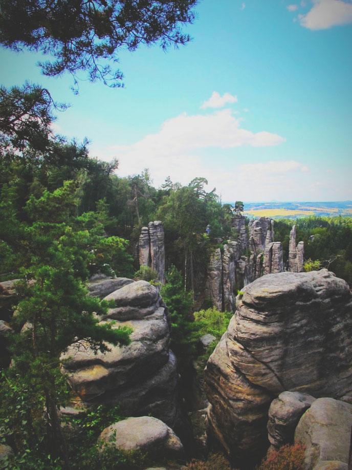 bigousteppes république tchèque prachov falaises