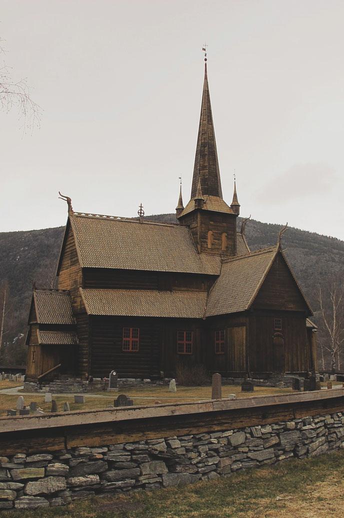bigousteppes norvège stavkirke