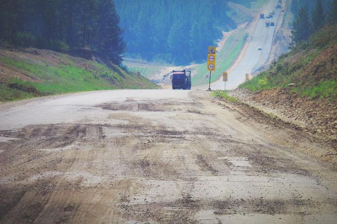 bigousteppes russie sibérie route camion