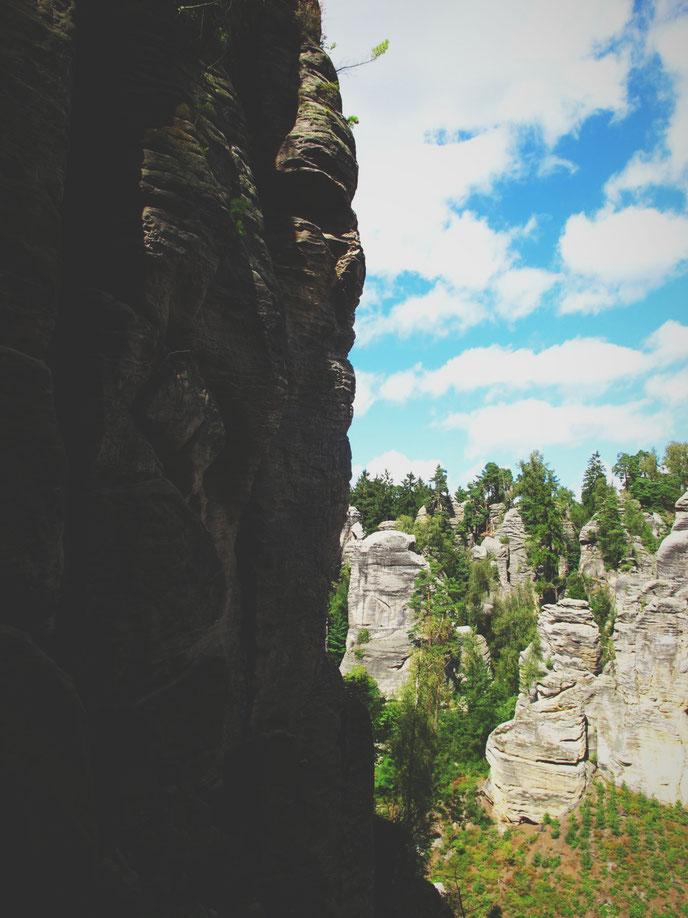 bigousteppes république tchèque prachov falaises rando