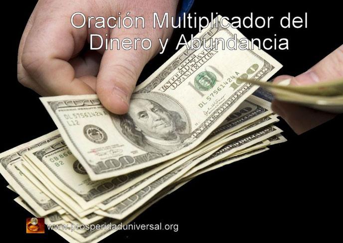 ORACIÓN MULTIPLICADOR DEL DINERO Y ABUNDANCIA - MOTOR MULTIPLICADOR - PROSPERIDAD UNIVERSAL -PU
