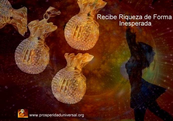 RECIBE RIQUEZA DE FORMA INESPERADA EN ABUNDANCIA -MEDITACIÓN SUBLIMINAL GUIADA CON SONIDO Y MÚSICA PROSPERIDAD UNIVERSAL