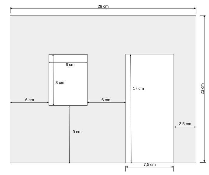 Mini-Hausfassade basteln