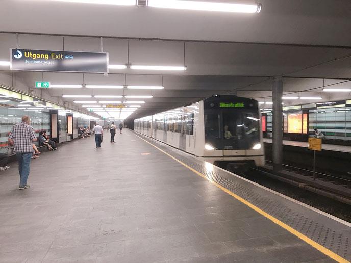 オスロの地下鉄_ウォリス
