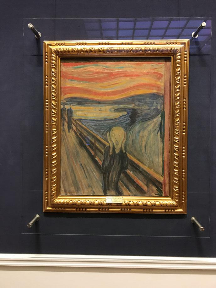 オスロにある国立美術館所蔵のムンクの叫び_ウォリス
