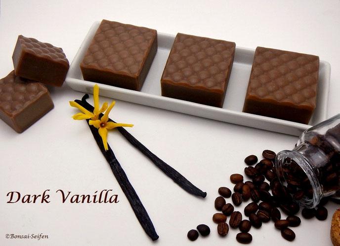Bonsai-Seifen, Dark Vanilla in Fullsize und Mini