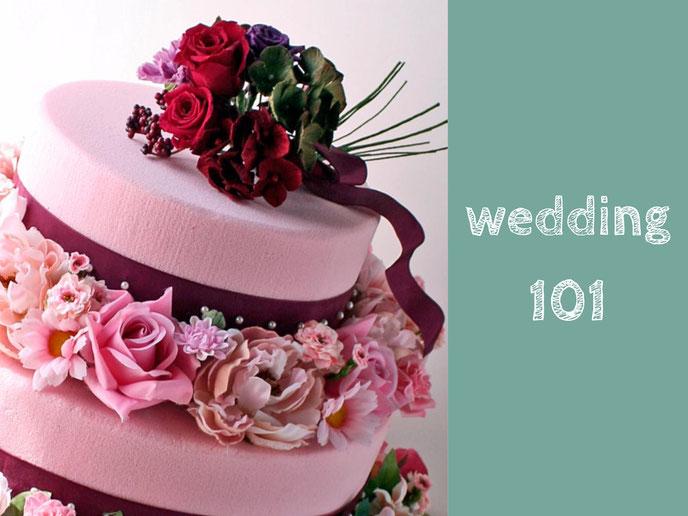Wedding 101  バナー
