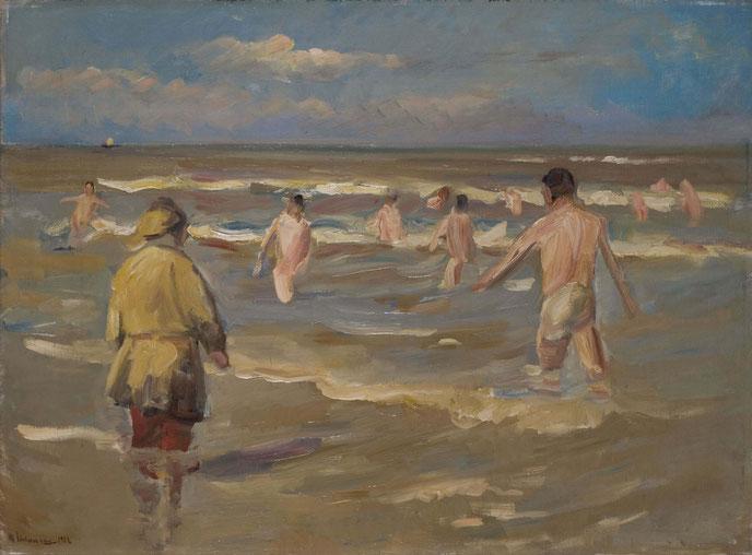 Max Liebermann, Badende Knaben