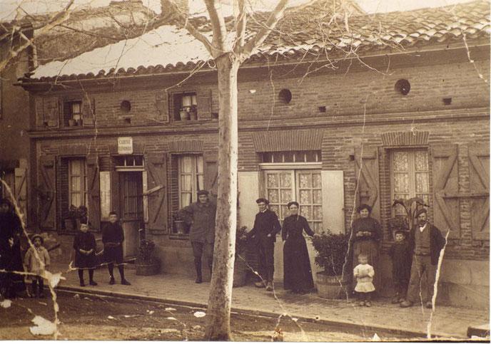 Le siège de notre association (photo prise en 1902)