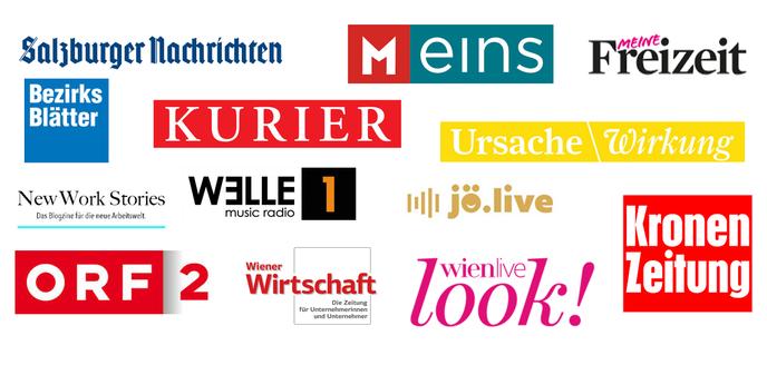 Presseberichte über Katharina Mühl die Glückstrainerin