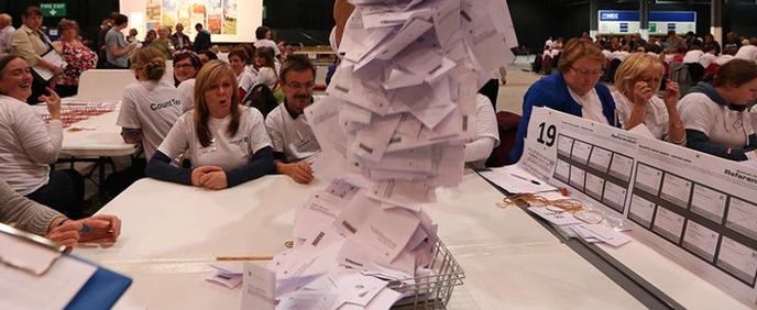 Bild:  Millionen von Stimmen für ein neues Europa! - Foto ARD