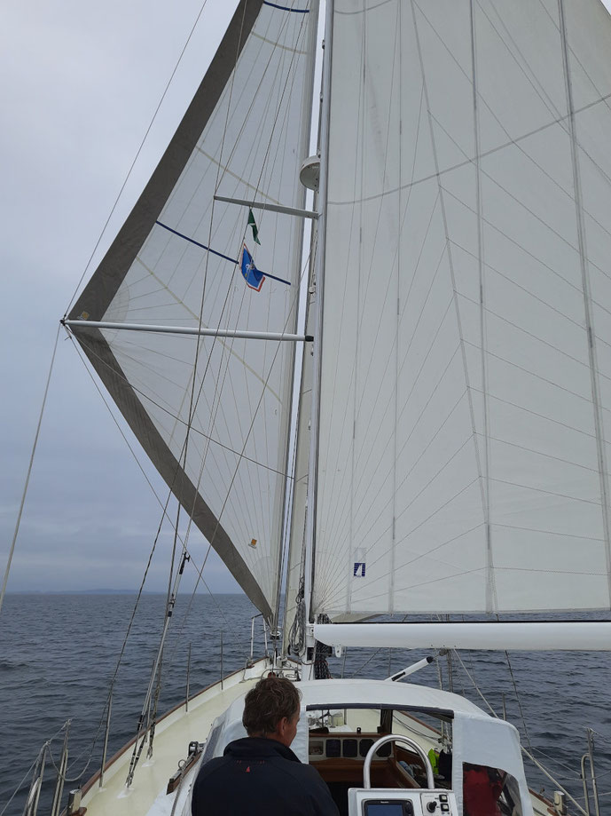 Vor'm Wind Kurs nach Svendborg