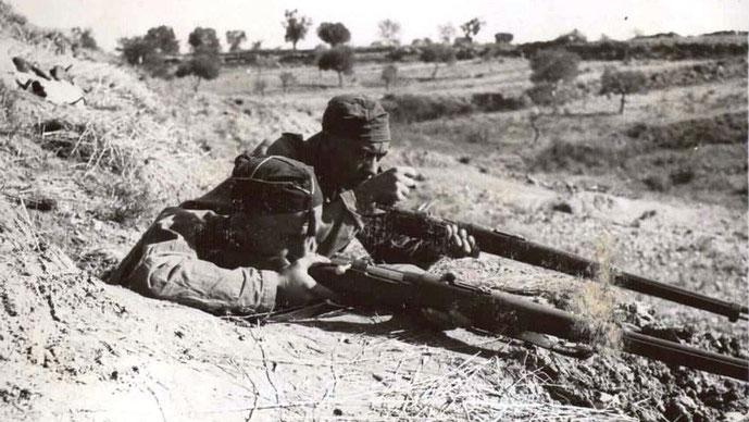 Republikanske militsstyrker ved Aragón–fronten