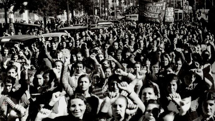 23. november 1936: Anarkisten Buenaventura Durrutis begravelse i Barcelona med over 1 million deltagere (andre kilder: varierende mellem 500.000 - 1.500.000 deltagere)