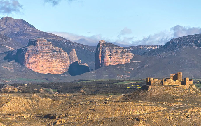 Bjergfæstningen ved Monte Aragaon