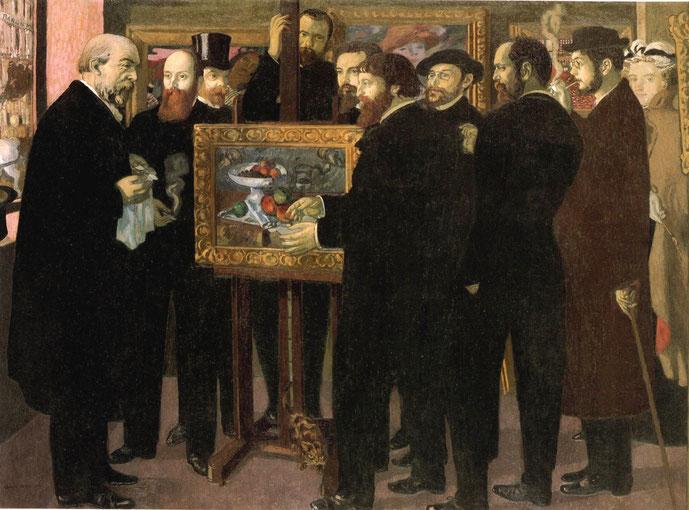 《セザンヌ礼賛》1900年