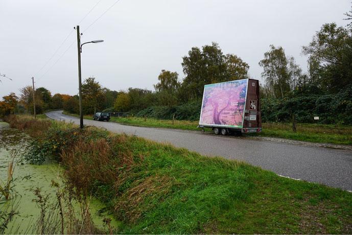 Bildtafel – Freie Flusszone Süderelbe. Hypothetische Schließung für die Binnenschifffahrt