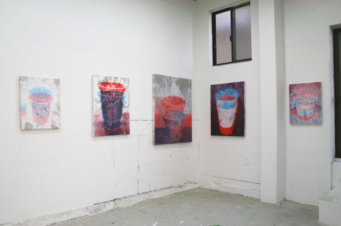 """""""Adachi Delta"""" installation view, 2016"""