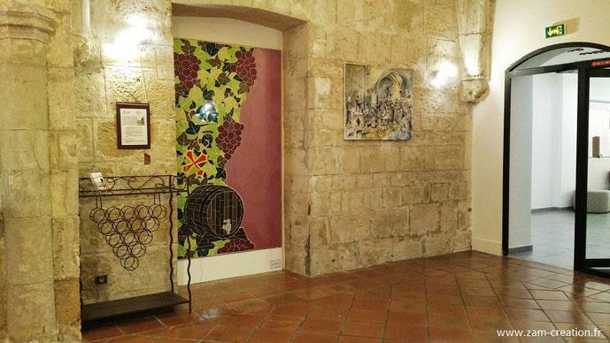"""Exposition """"La Vigne"""" au Conseil Interprofessionnel des Vins du Languedoc CIVL - Narbonne"""