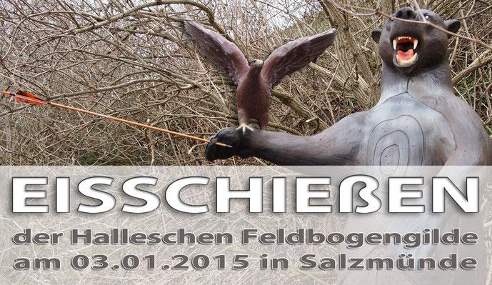 Eisschiessen am 03.01.2015 in Salzmünde