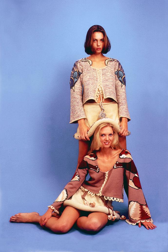 Alexander Seraphim's knits,  1995