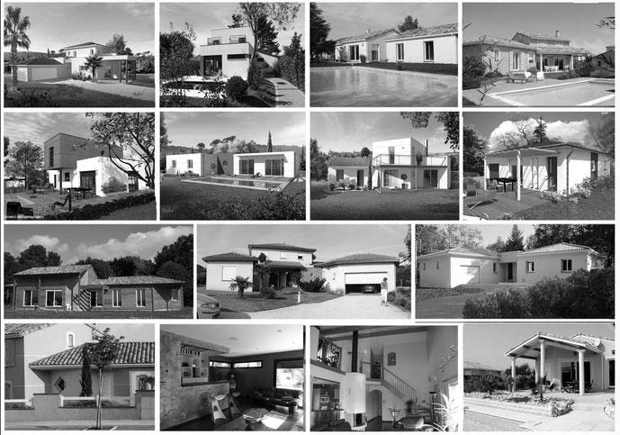 Des maisons personnalisées
