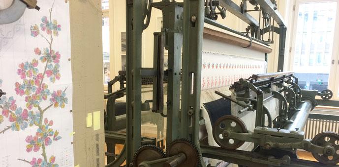 Stickmaschine Textilmuseum St. Gallen