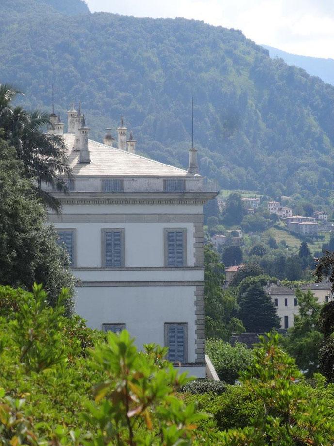 Villa Melzi Nah close