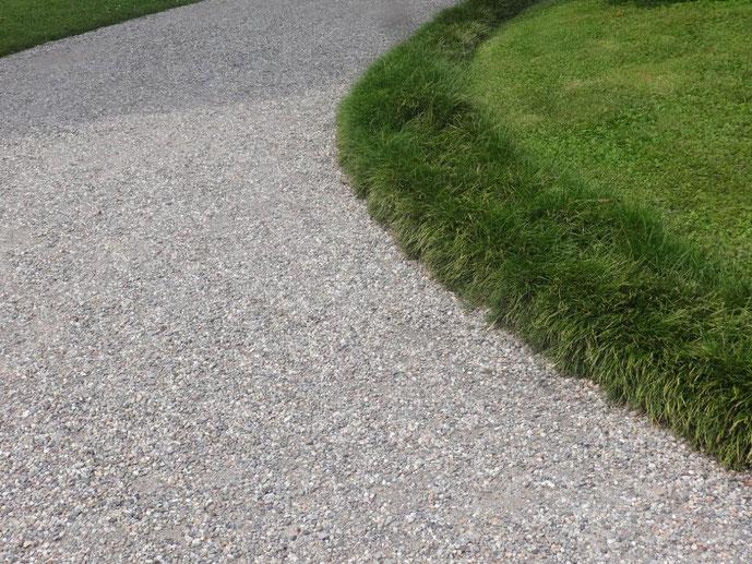 Kurve Kieweg Gras