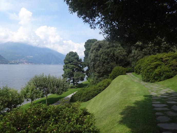 Giardini die Villa Melzi Lago die Como