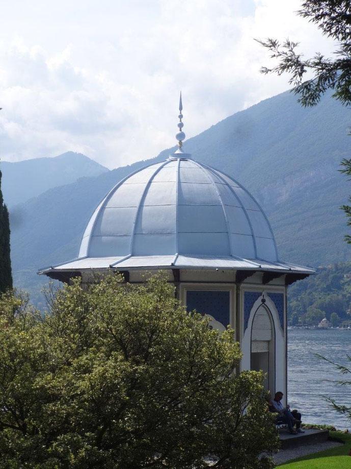 Pavillon Villa Melzi Lago die Como