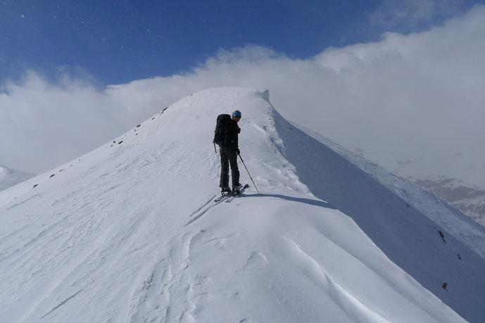 Piz Chalchagn, Skitour