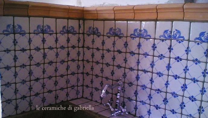 pannelli 2 pannelli in ceramica artistica maiolica pannelli per ...