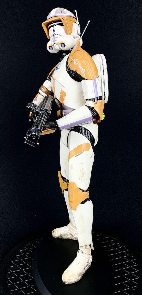 Commander Cody 1/5 Star Wars Clone Wars Polystone 41cm Statue Attakus