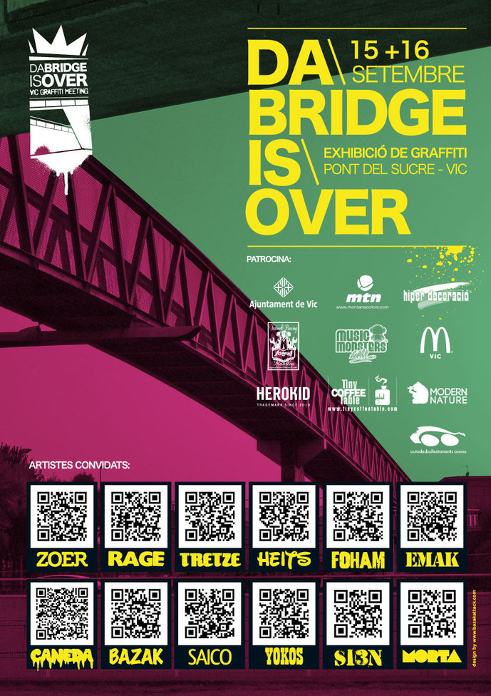 Da Bridge is Over Póster