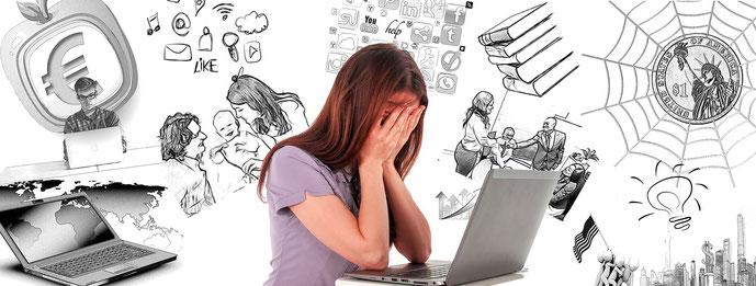 Konflikte über Konflikte - Wie können wir heutzutage überhaupt Stress in der Schwangerschaft vermeiden
