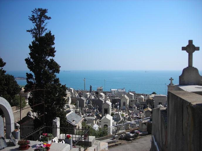 Cimetière Marin, Sète im März 2011