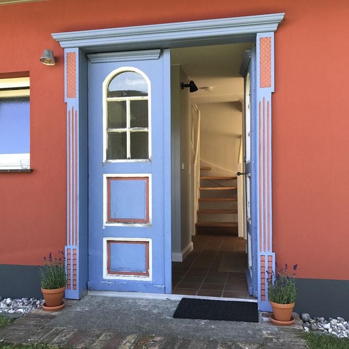 alte Darßer Haustür
