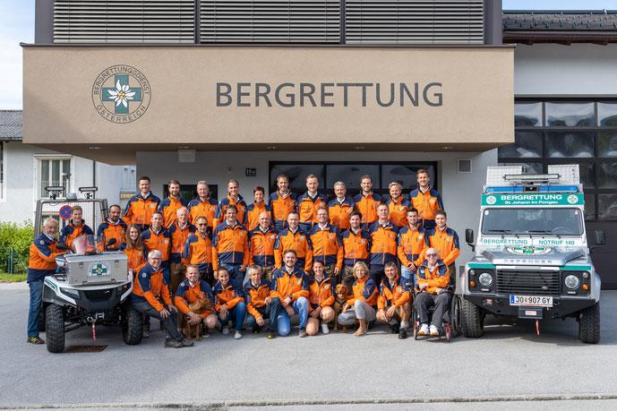 Einsatzmannschaft Bergrettung St. Johann