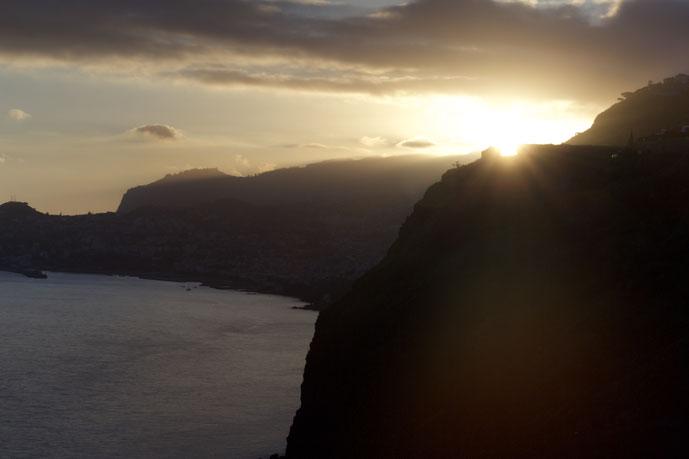 Sonnenaufgang von der Christorai auf Madeira