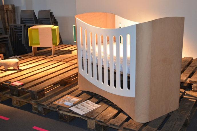 KINDGERECHT-Design Kindermöbel ausgestellt auf der Room and Style in Dresden