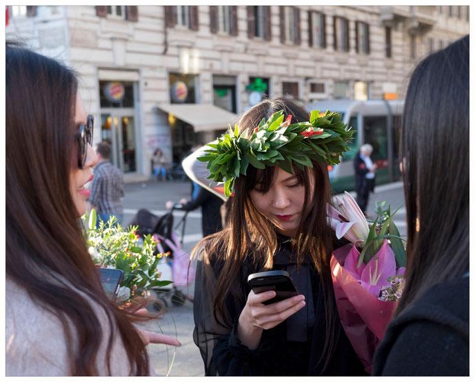 Rom - Touristinnen