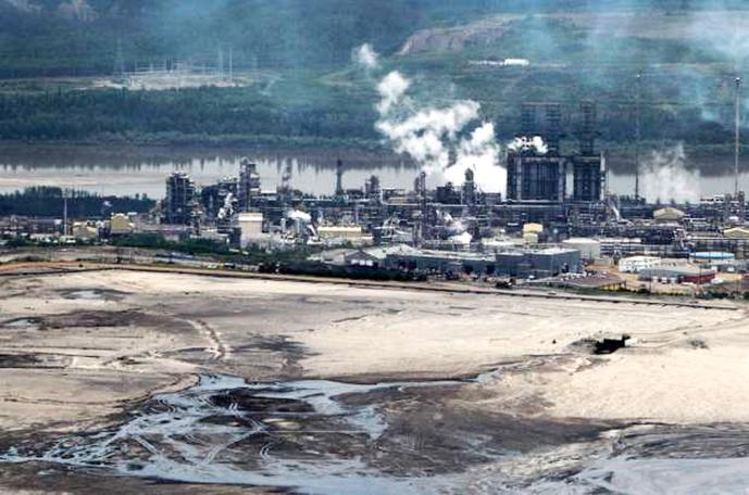 'Shell Canada' ved Fort McMurray i forbundsstaten Alberta