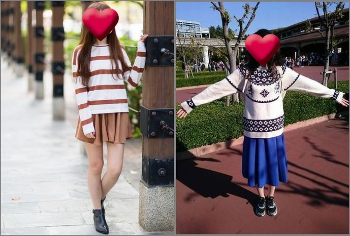 秋ディズニーの服装(女性)