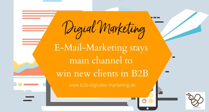 E-Mail-Marketing best practice in winning B2B customers