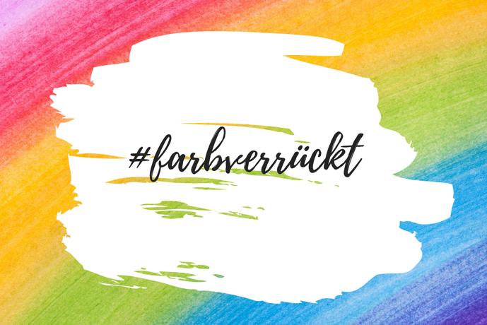 "Kreativprojekt ""farbverrückt"" mit Doreen Trittel aus Berlin, auf Instagram #farbverrückt"