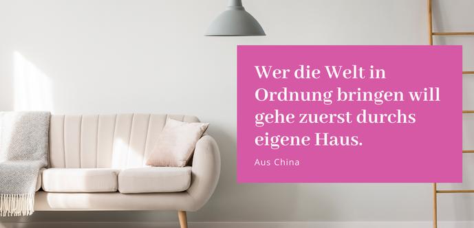 """Routinen die deinen Alltag leichter machen - Gastbeitrag von Tanja Hug (Mrs Happy) in der Blogreihe """"Lieber glücklich von A bis Z"""" #Routinen #Wohnen #Alltag"""