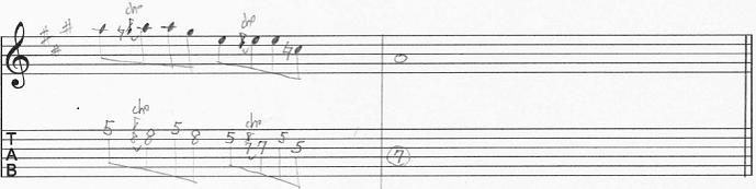 【初心者】ギターアドリブ入門講座 マイナーペンタトニック・フレーズ④